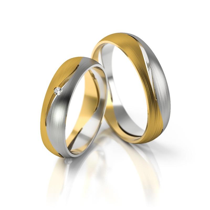 Złote obrączki ślubne Stelmach St 247