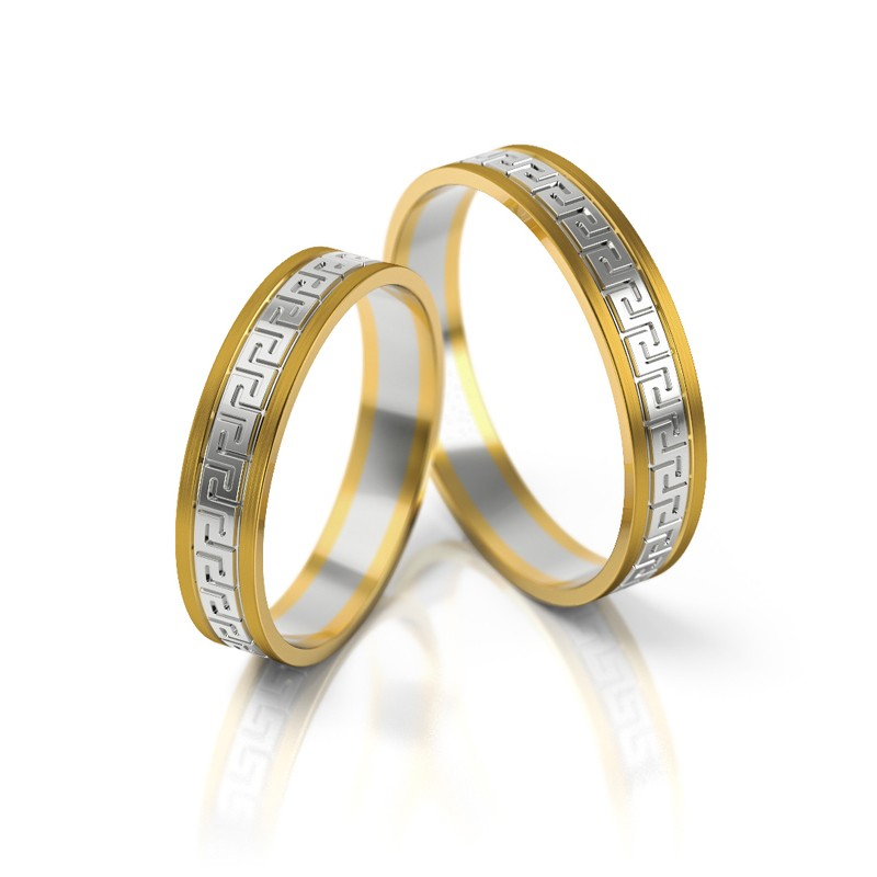 Złote obrączki ślubne Stelmach St 248