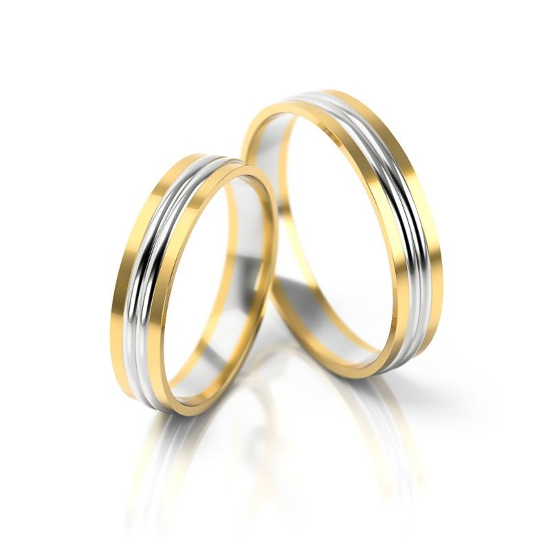 Złote obrączki ślubne Stelmach St 250