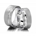 Złote obrączki ślubne Altra Vision 24WR