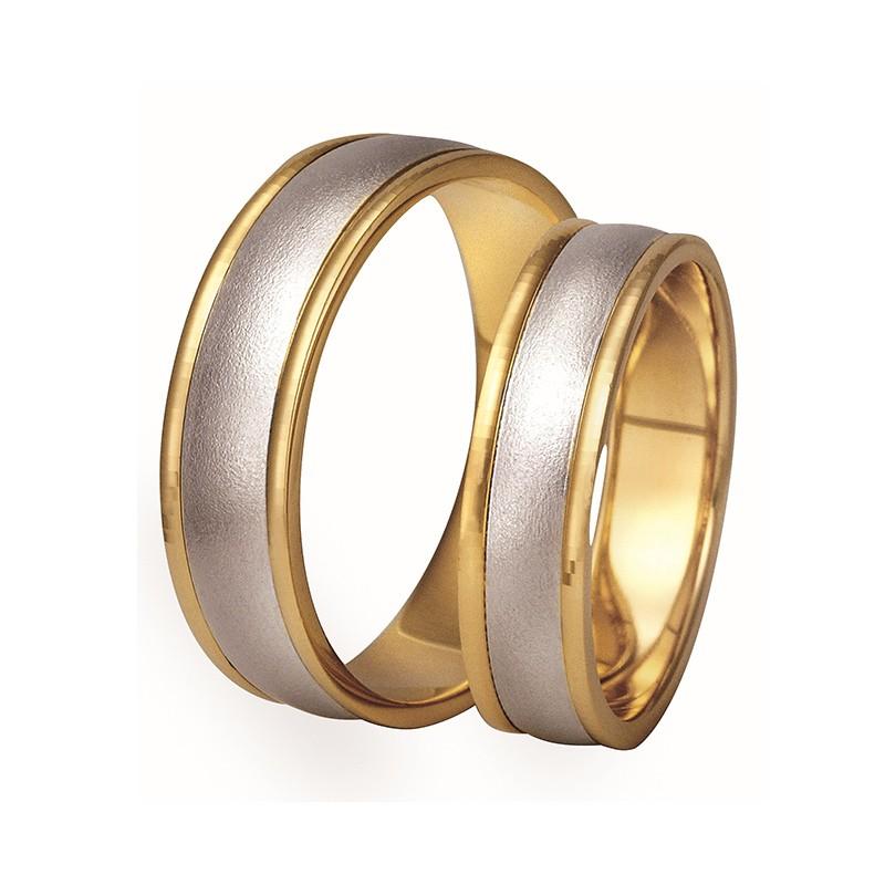 Złote obrączki ślubne Swepol A-120
