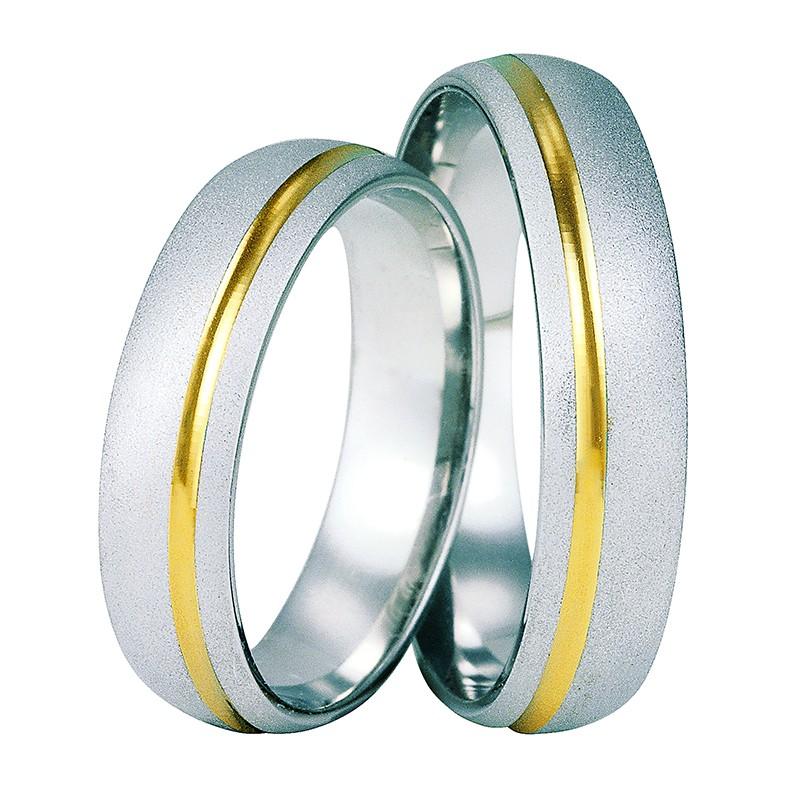 Złote obrączki ślubne Swepol A-603