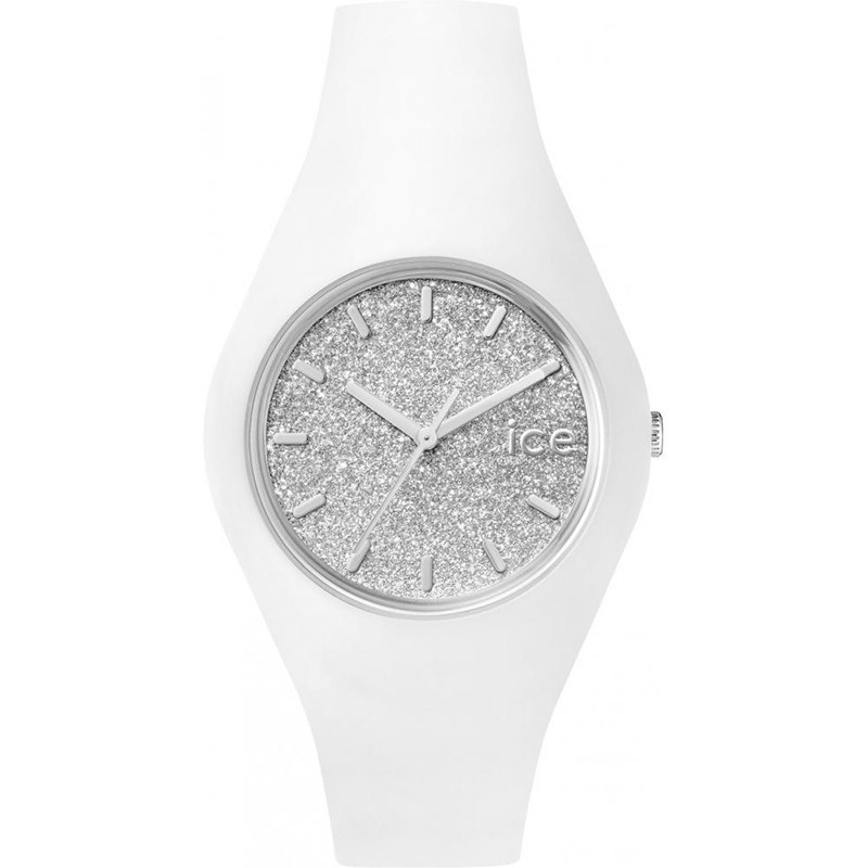 Zegarek Ice-Watch Ice Glitter White Silver 001351