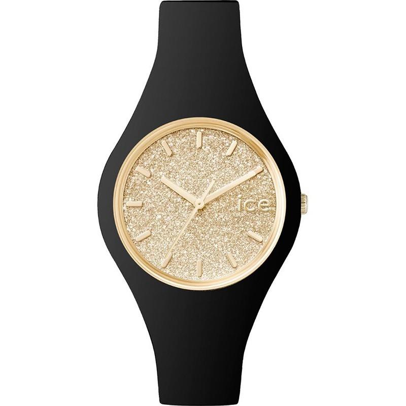 Zegarek Ice-Watch Ice Glitter Black Gold 001348