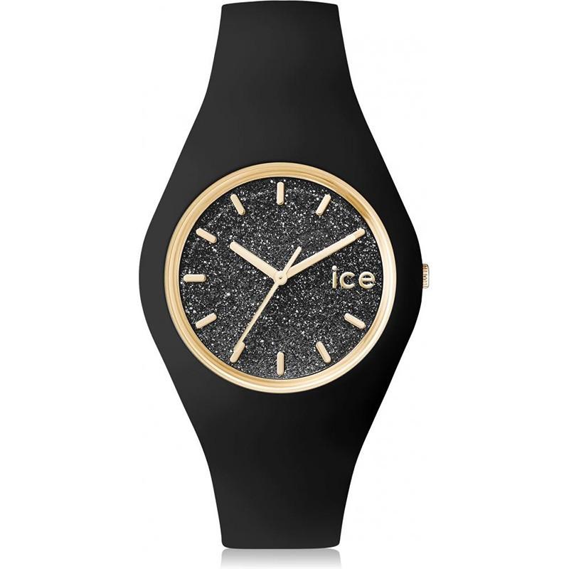 Zegarek  damski Ice-Watch Ice Glitter Black 001349