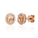Kolczyki z różowego złota Aren' Art SE51868R