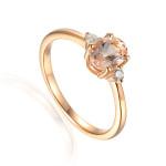 Pierścionek z różowego złota Aren' Art S37303R