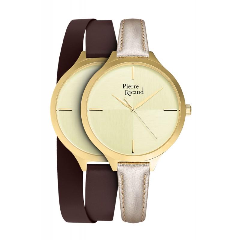 Zegarek damski Pierre Ricaud P22005.1D11LQ - SET