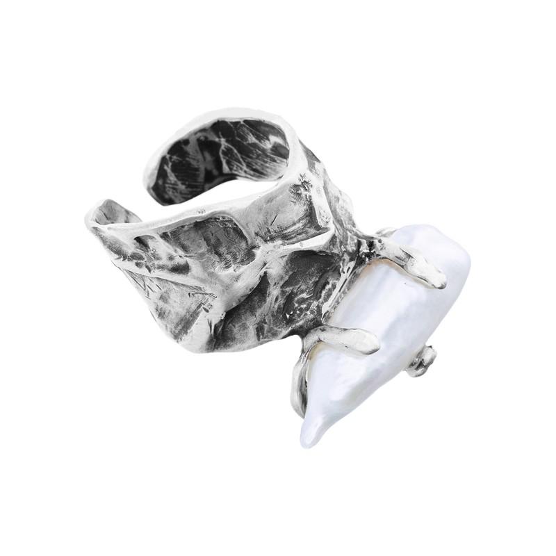 Pierścionek antyczne srebro