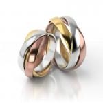 Złote obrączki ślubne Stelmach St56