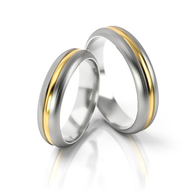 Złote obrączki ślubne Stelmach St 168